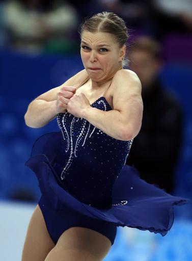 フィギュア女子SPで21位のラジコワ、ソチ五輪