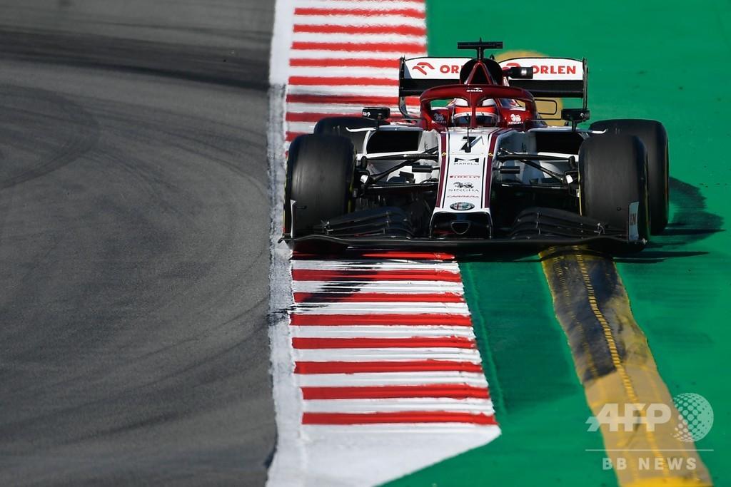 ライコネンがトップタイムを記録、バルセロナ合同テスト2日目