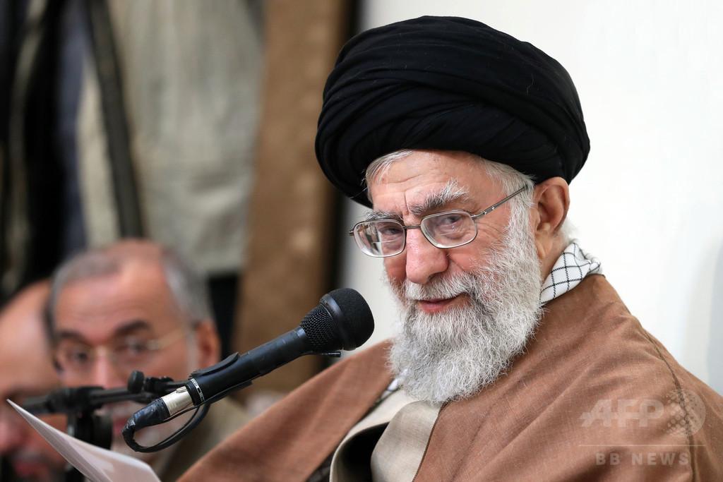 イラン最高指導者、デモは「敵」のせいと非難 米は国連会合要請へ