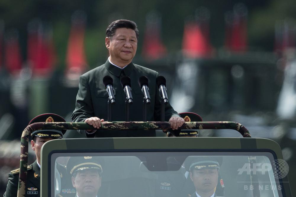 習主席の名、憲法に明記へ 中国共産党が提案