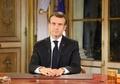仏「黄色いベスト」運動の支持率急落か、マクロン大統領の演説受け