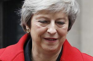 英首相、議会が合意案不支持なら「EU離脱しない選択肢ある」と発言