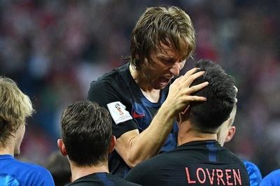 クロアチア準々決勝へ、デンマークとのPK戦を制す