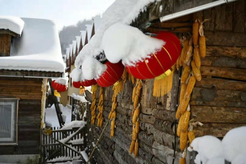 冬の観光地「雪郷」が今年の営業開始 中国・黒竜江省 写真4枚 国際 ...