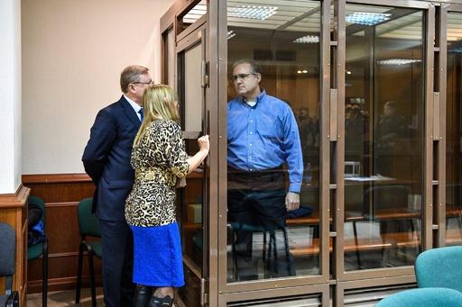 ロシア裁判所、スパイ行為で起訴の元米海兵隊員の保釈認めず