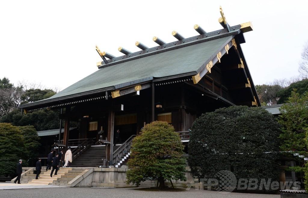 安倍首相が靖国神社を参拝、中国は批判