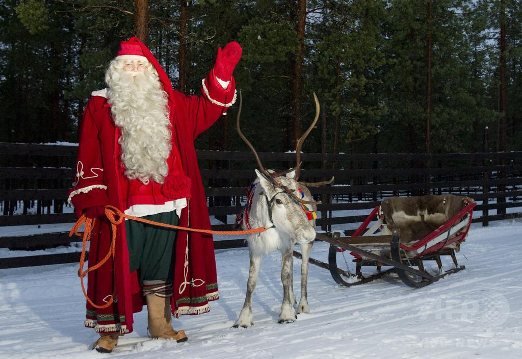 フィンランドの公認サンタが破産、観光客減で税金滞納