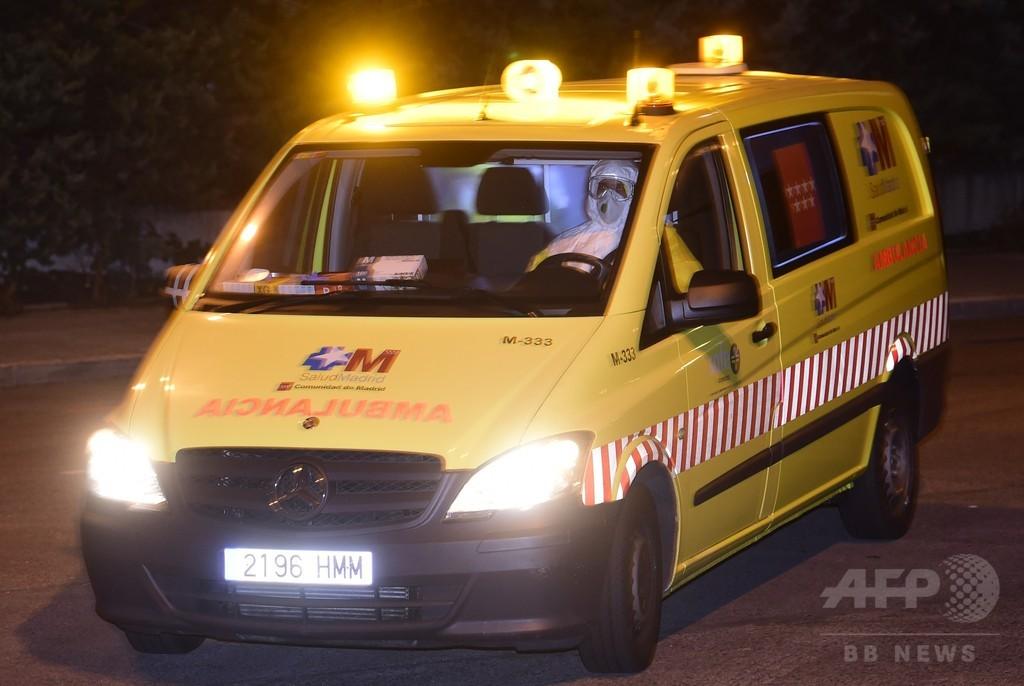 スペインのエボラ感染疑いの6人、2人は検査で陰性