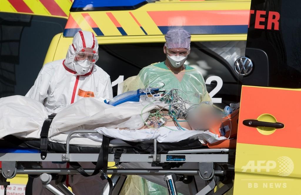 新型コロナ、世界の死者2万人超に スペインが中国抜き2位