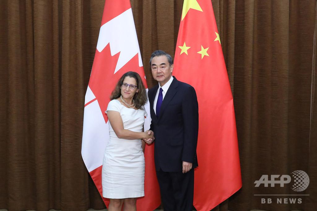 中国で3人目のカナダ人拘束、ファーウェイ問題で関係緊張