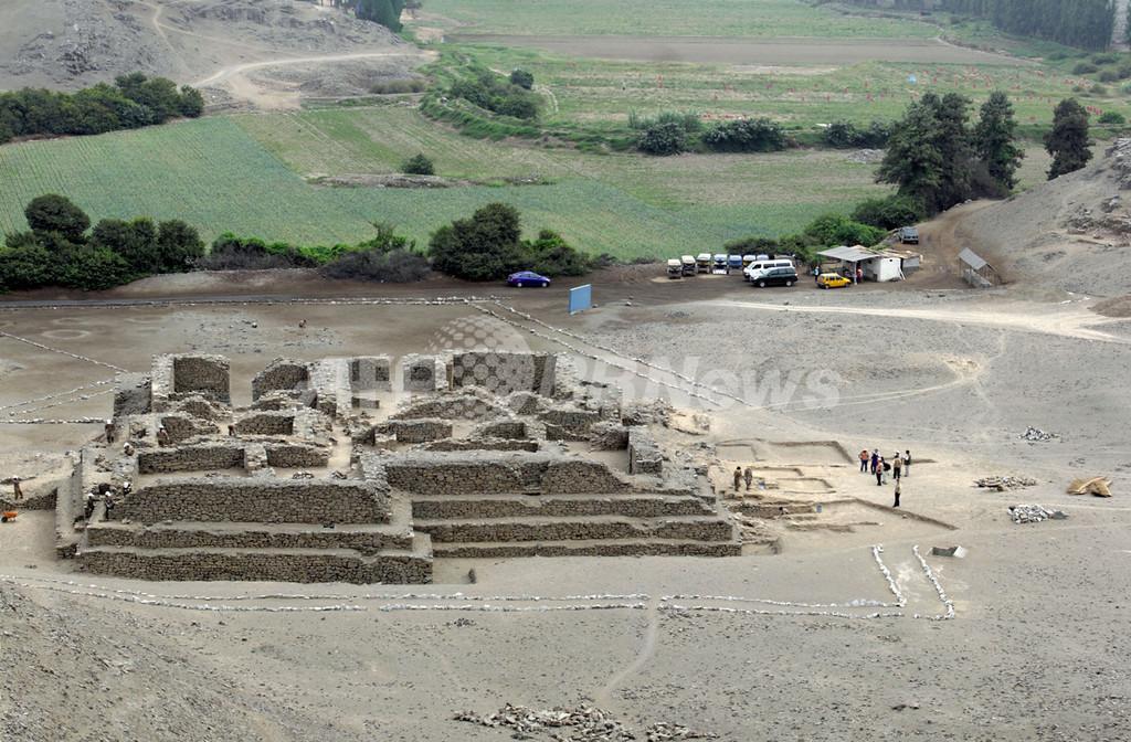 リマ近郊で古代神殿発見、5000年前建造か