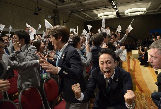 2020年東京五輪開催決定!歓喜の瞬間