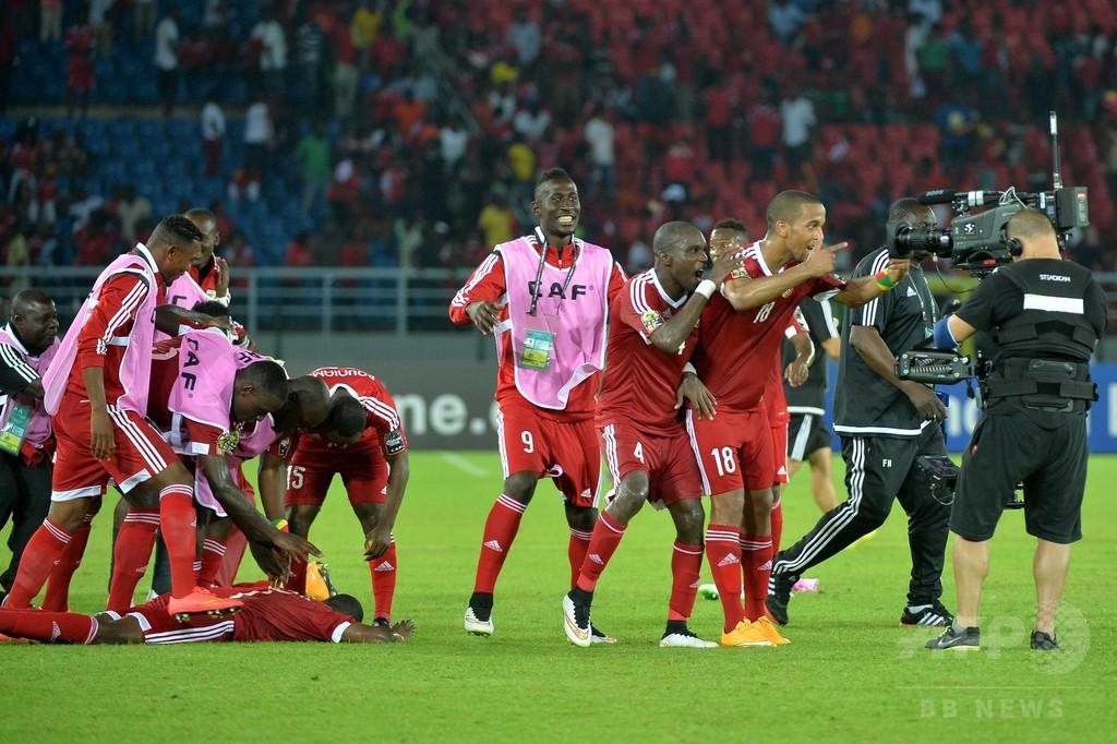 コンゴ共和国がガボンに勝利、8強入りに前進 アフリカネイションズカップ