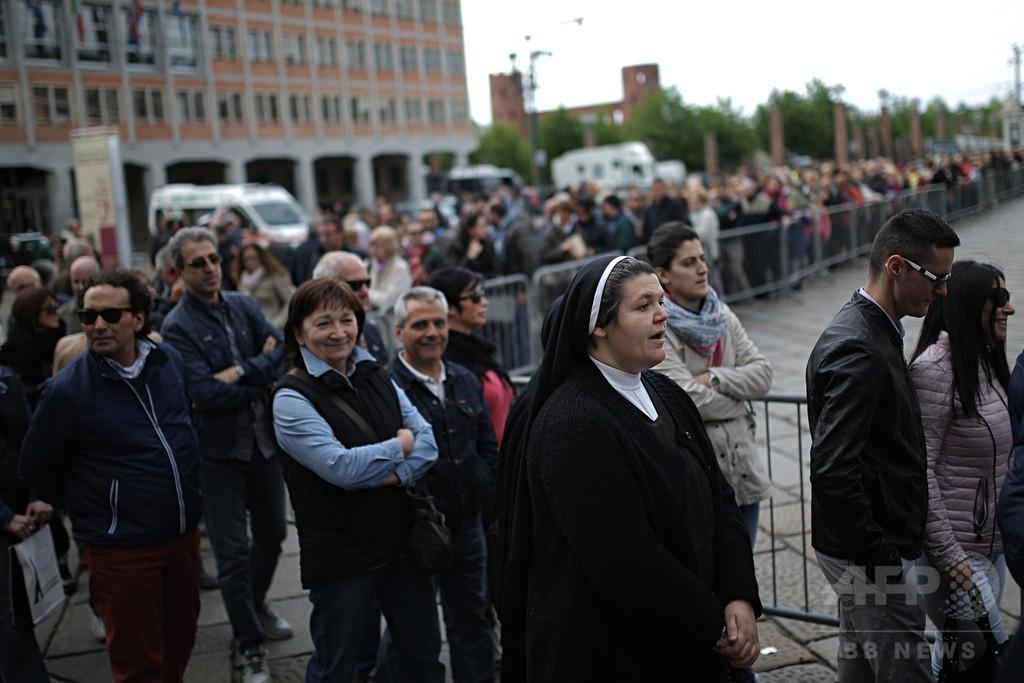トリノの聖骸布、5年ぶりに一般公開