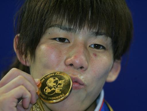 吉田 55キログラム級で大会5連覇
