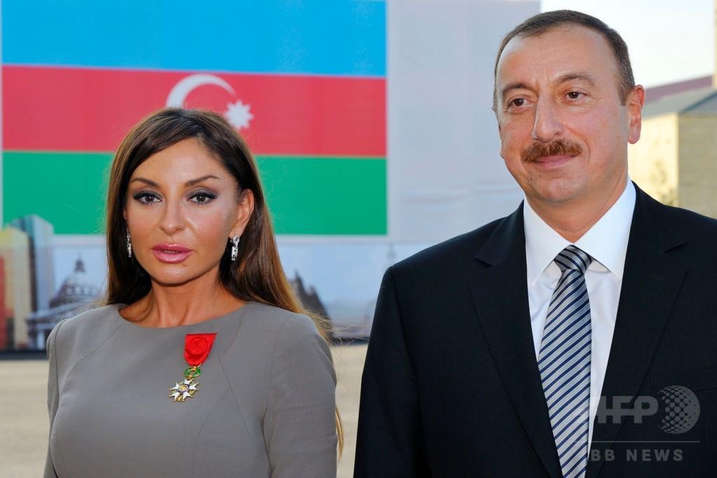 第1副大統領に大統領夫人、一族支配を強化 アゼルバイジャン