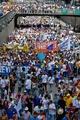 ベネズエラ、大統領罷免求め大規模デモ 野党幹部「100万人参加」