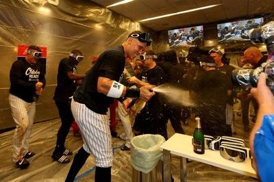 ヤンキースがレッドソックスとのア・リーグ地区Sへ、アスレチックスに圧勝