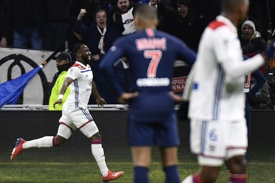 PSGが今季リーグ戦初黒星、リヨンに敗れ無敗優勝の可能性消滅