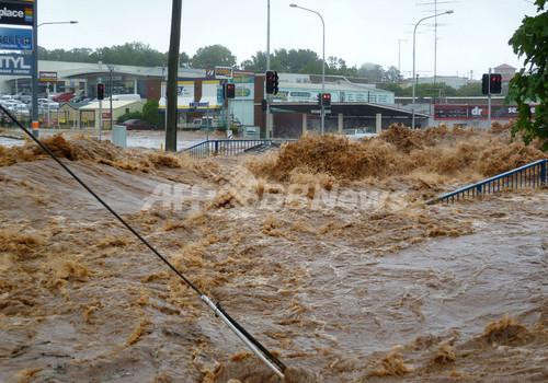 第3の都市ブリスベーンでも2万戸浸水の恐れ、豪洪水