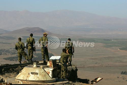 イスラエル、シリア空爆を認める 写真拡大 ▲ キャプション表示 ×2007年9月7日、ゴラン高原
