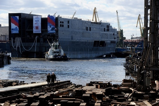 フランスの対ロシア軍艦輸出に米国が懸念、クリミア配備の見込み