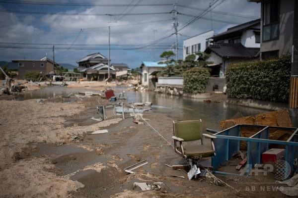 西日本豪雨、死者155人に 数十人が依然行方不明