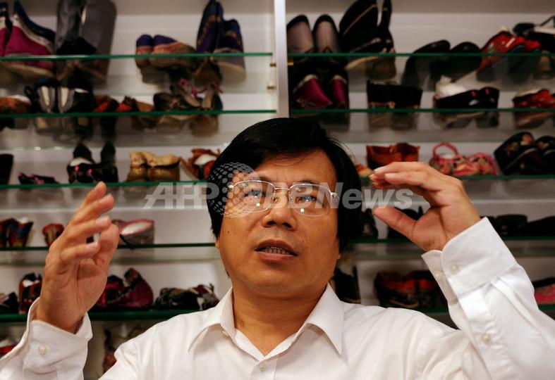 「てん足」に魅了され、靴コレクションは5000足 台湾