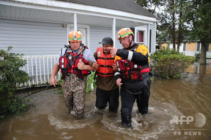 ハリケーン「フローレンス」、死者31人に さらなる河川氾濫の懸念も