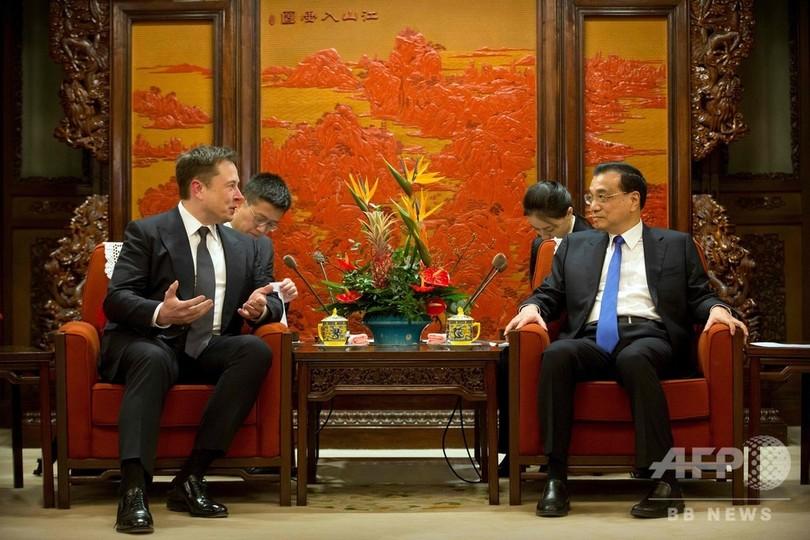 中国、テスラのマスク氏に「永住権」付与を提案