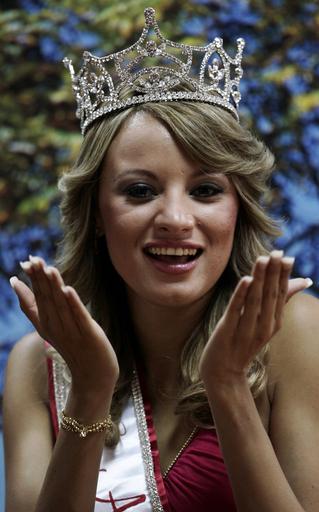 2007ミス・ラテンアメリカ 契約違反で準優勝のHeidi Garciaさん繰上げ優勝