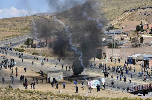 ボリビア副内相、鉱山労働者らに拉致・殺害される