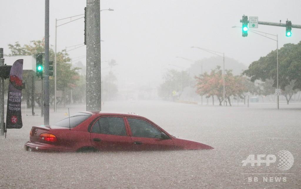 ハリケーン接近のハワイ、大統領が非常事態宣言