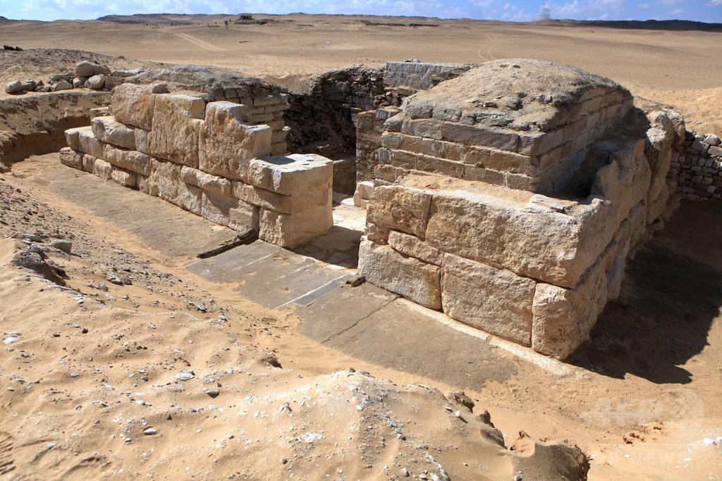 4500年前の墓発掘、古代エジプト王妃の名前判明