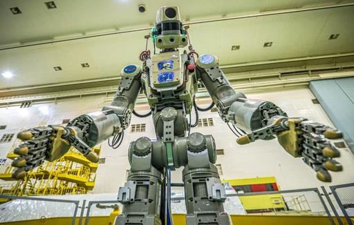 ヒト型ロボット乗せたロシア宇宙船、ISSとのドッキングに失敗
