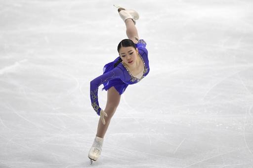 前回覇者の紀平が女子SP首位発進、フィギュア四大陸選手権