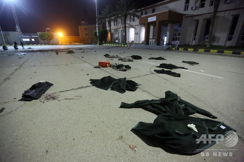 リビア首都の士官学校に空爆、少なくとも28人死亡 GNA