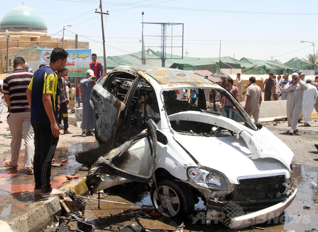 武装勢力、自ら誤爆で21人死亡 イラク