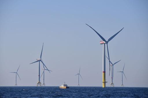 独アルコナ洋上風力発電所、来週開設式 メルケル氏ら出席へ