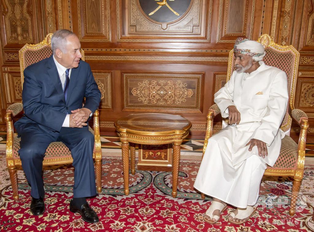 イスラエル首相がオマーン訪問、地域諸国との関係拡大か