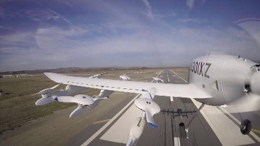 動画:「空飛ぶ自動運転タクシー」 NZで開発 グーグル創業者が支援