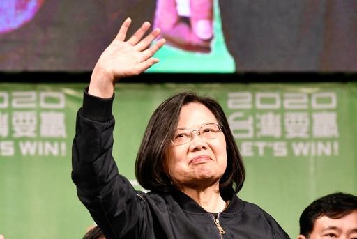 台湾総統選、圧勝の蔡氏を中国国営メディアが批判「汚い小細工」「まぐれ」