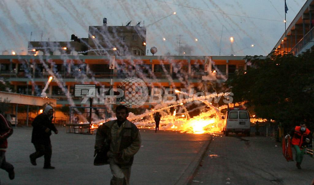 イスラエル、ガザに新たな攻撃 一方的停戦の判断前に
