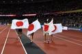 日本が男子4×100mリレーで銅メダルを獲得、世界陸上