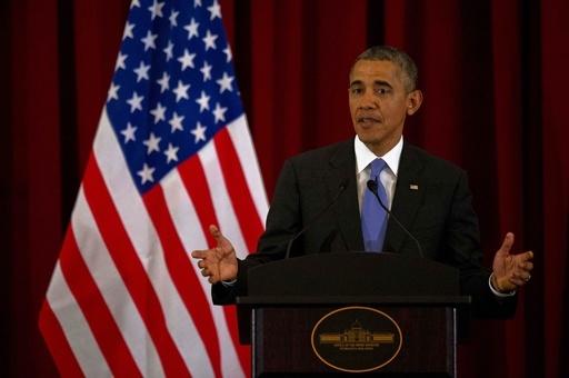 米大統領、ロシアに国際監視団への参加など要求 ウクライナ情勢