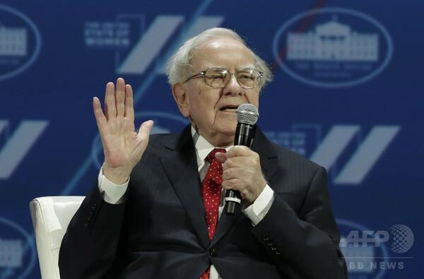 バフェット氏の投資会社、米税制改革の恩恵は3兆円