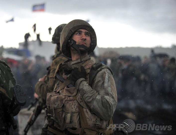 ウクライナ軍、東部での軍事作戦...