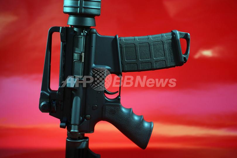 凶器は米軍使用 m16ライフル の民間モデル 米小学校銃乱射事件 写真3