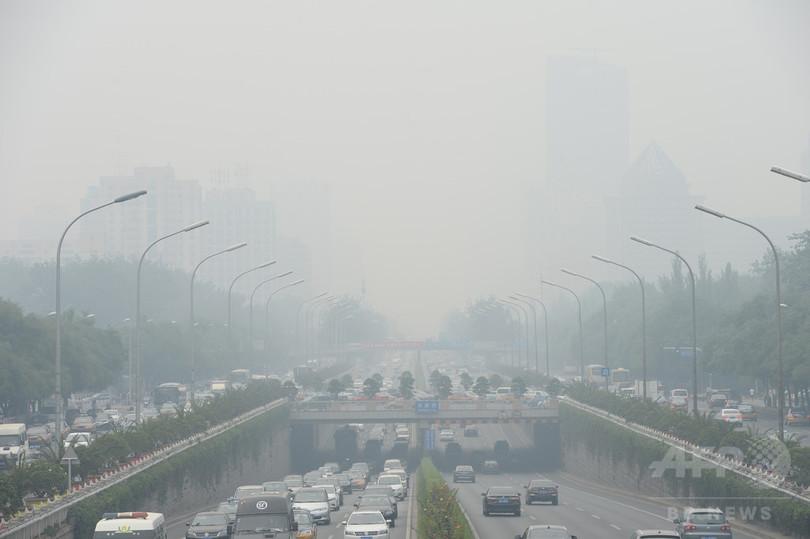 大気汚染による早死に、世界で年間330万人 国際研究