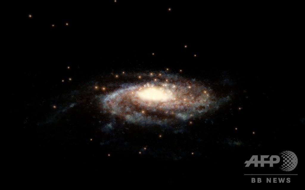 銀河系の質量、高精度で算出 天...